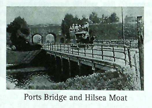 Ports Bridge and Hilsea Moat