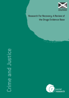 Click to Download: 'Research for Recovery A Review of the Drugs Evidence Base'