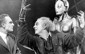 Scene from the film Metropolis