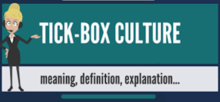 tickbox culture