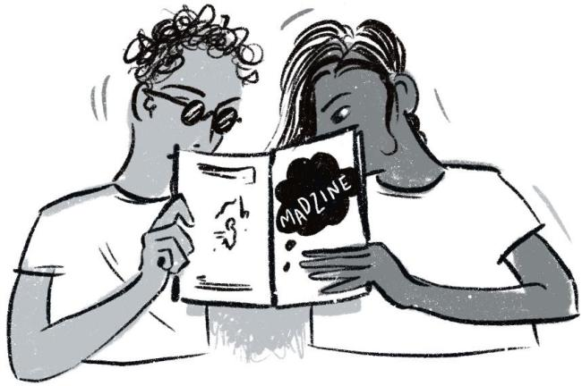Zine readers