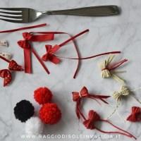 Come fare fiocchi e pompon con una forchetta