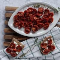 Pomodorini confit al forno