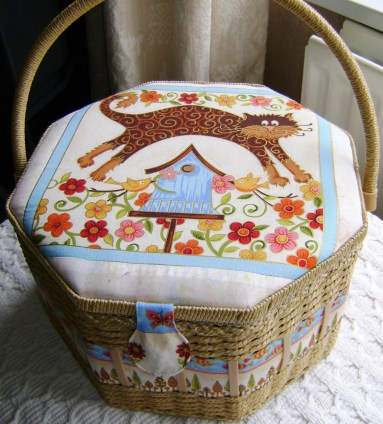 A good sewing box will hold everything