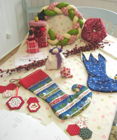 Our Christmas class exhibits