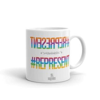 #represent gay queer hashtag mug instagram snapchat facebook