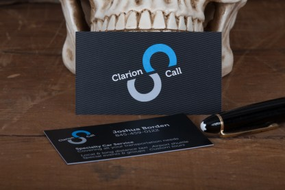 Raghaus Suede velvet laminated business card