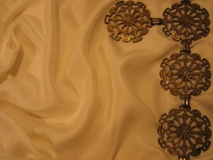 Silk and Gold Decorations