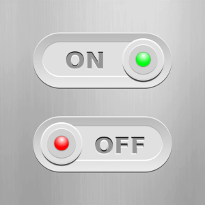 an on-off switch with these two options only