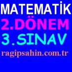 orta okul matematik 2.dönem 3.sınavlar