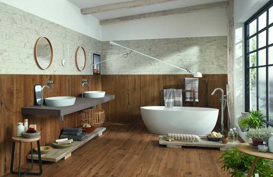 wood effect stoneware tiles ragno