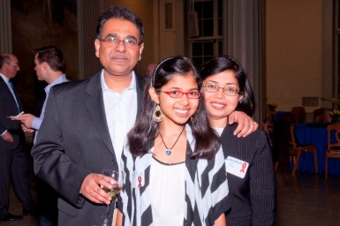 Arup Chakraborty and family