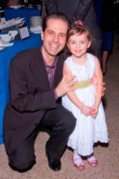 Dr. Daniel Kaufmann and daughter