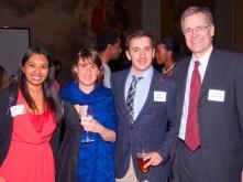 Srinika Ranasinghe, Daniela and Pedro Lamothe, Bruce Walker