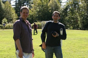 Retreat organizers Drs. Daniel Lingwood and Alex Balazs