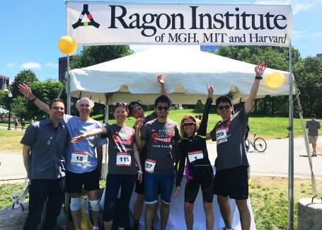 Susan Ragon and the Team