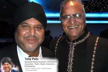 Professional DJ & Broadcaster Tony Patti with Rahi Bains-min