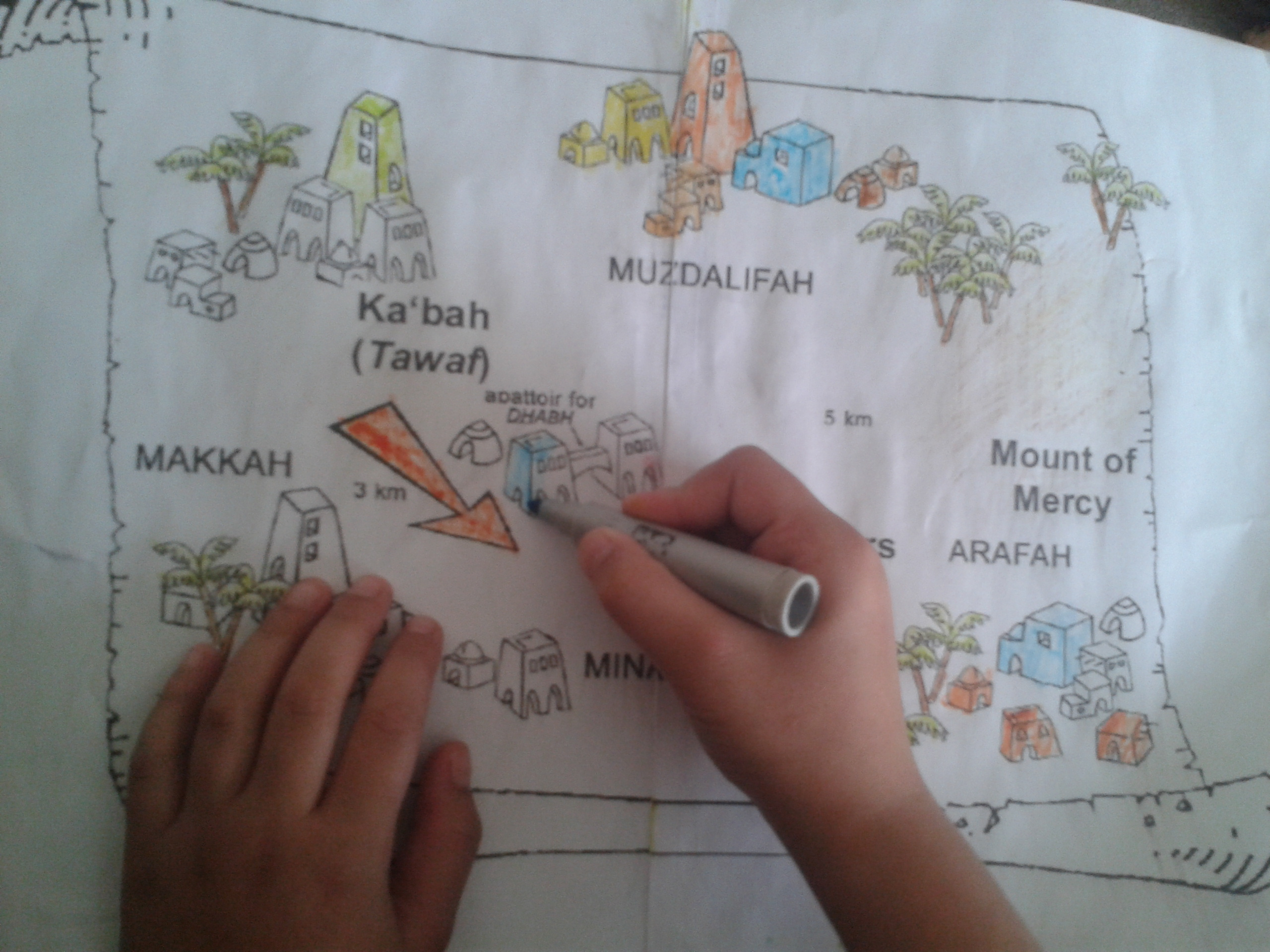 Day 1 The Story Of Hajj And The Hajj Map