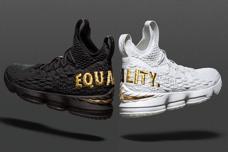 Nike LeBron James 15s Equality Drawing