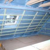 Dachboden Umbauphase