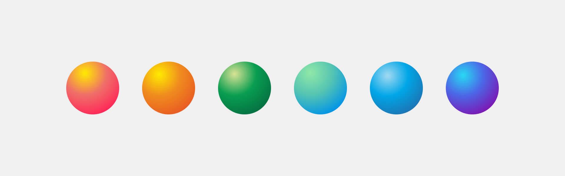 04 color gradient palette