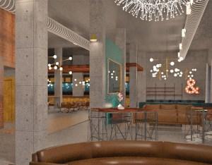 Watt Hotel lobby