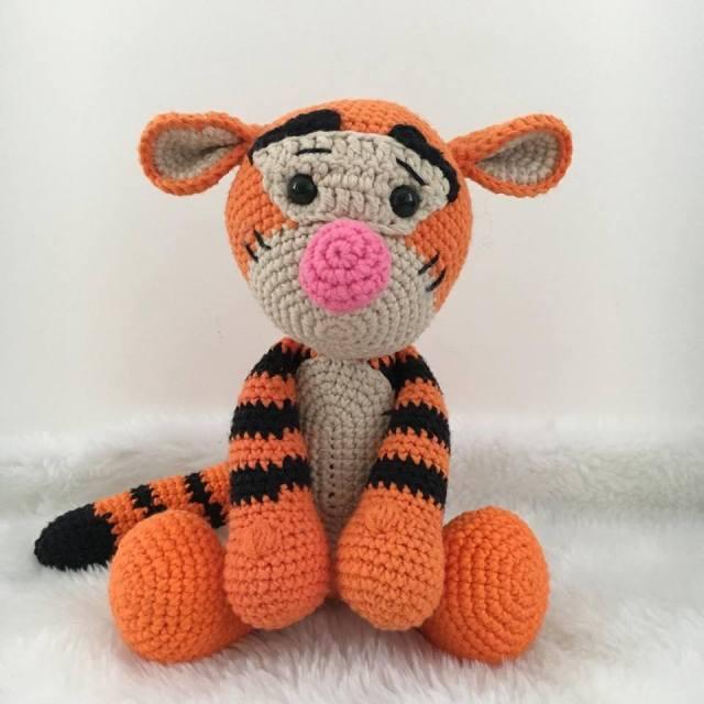 Tigrão Ursinho Pooh Amigurumi