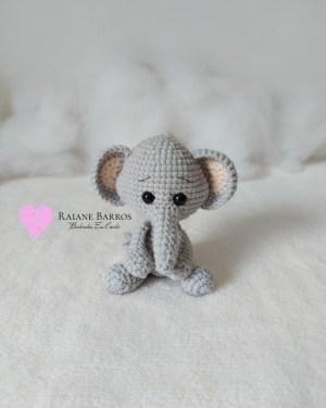 Capa Elefante Amigurumi Rosi Barros