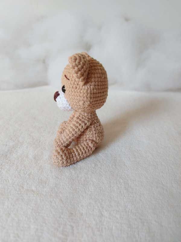 Ursinho Amigurum Baby Lado - Rosi Barros