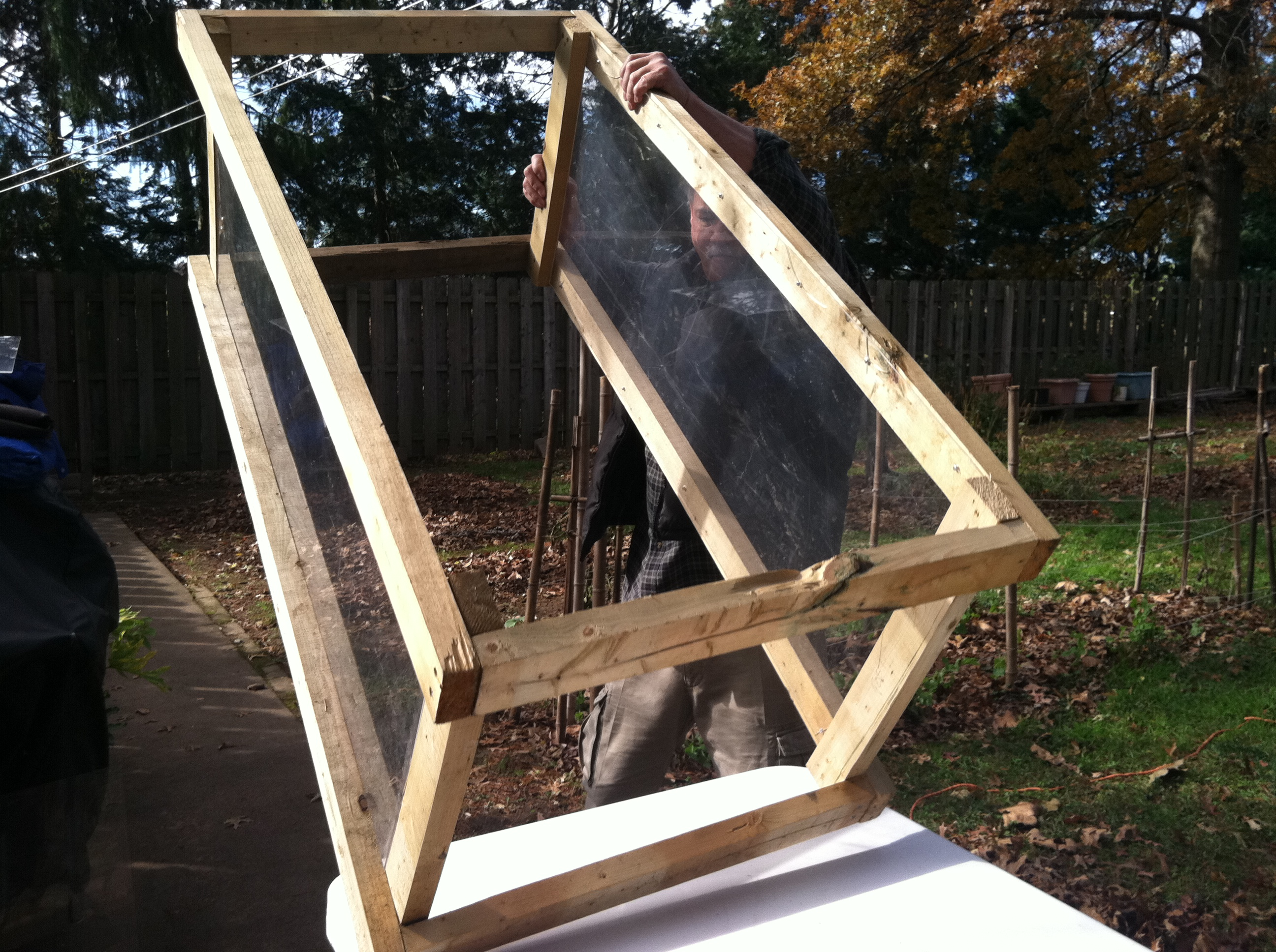 D I Y Fridays Building A Cold Frame The Ra 237 Ces