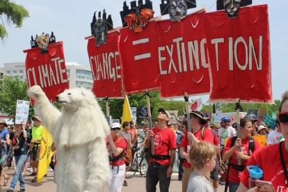99% of polar bears agree...Climate Change = Extinction