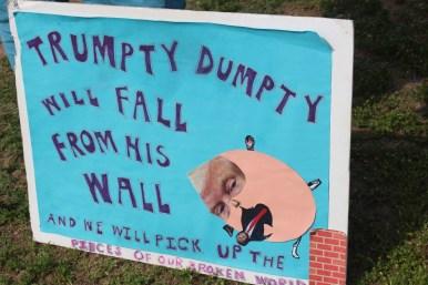 """Trumpty Dumpty Will Fall From His Wall"""
