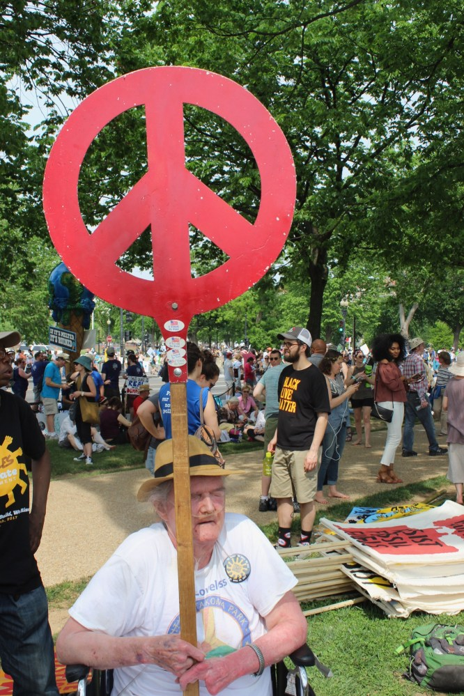 Marchers came from all backgrounds, all ages, all cultures to fight for earth justice!