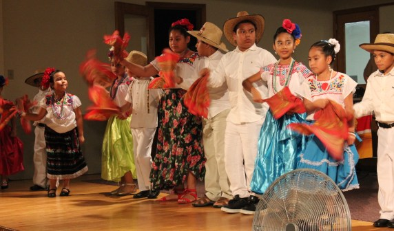 Student dance troupe which performed folkloric dances of Mexico.