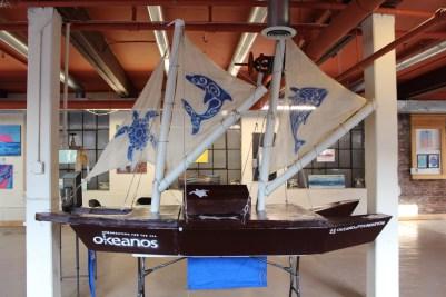 Okeanos Vaka (Polynesian Indigenous Sailing Canoe)