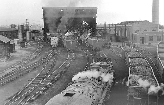 Laramie Engine Terminal, 1957