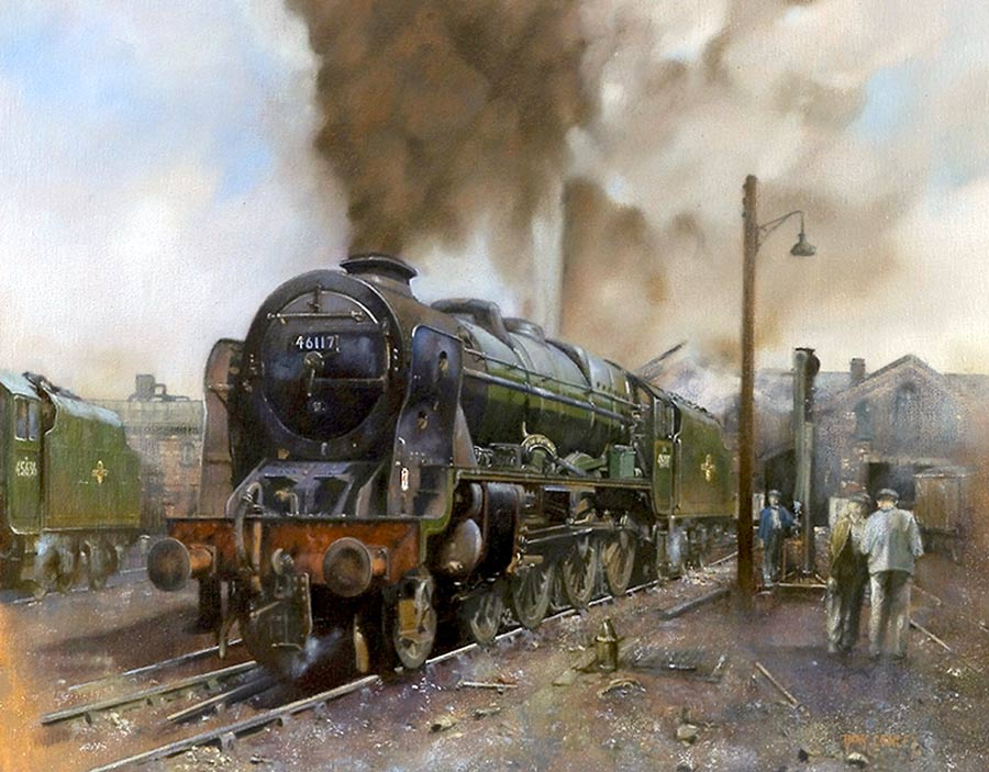 Railway Paintings By Artist John Cowley GRA