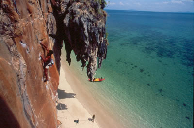 do site Climbing Railay Beach Thailand