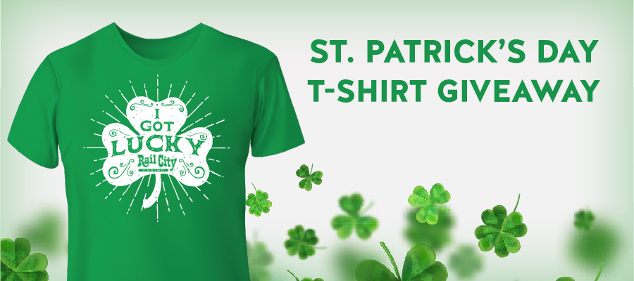 St. Patrick's Day T-Shirt Giveaway