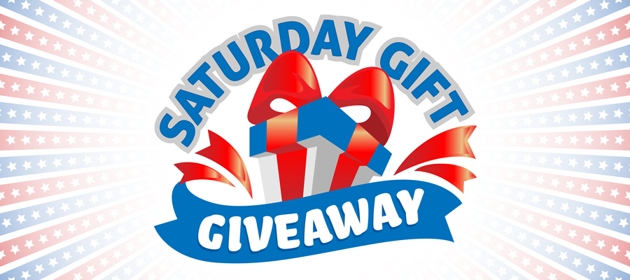 Saturday Gift Giveaway - July