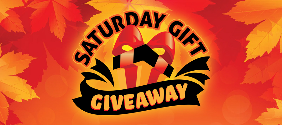 Saturday Gift Giveaway - October