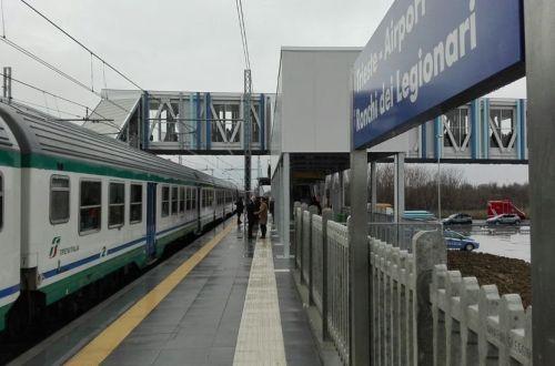 Trieste Airport Station Inaugurated International