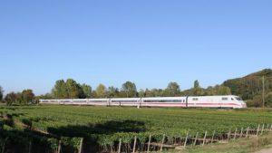 DB Deutsche Bahn ICE 1 high-speed train