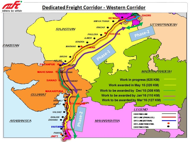 Dedicated Freight Corridor Update: 700 Km lines to be