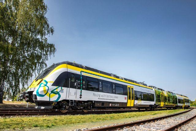 Bombardier battery electric train TALENT 3