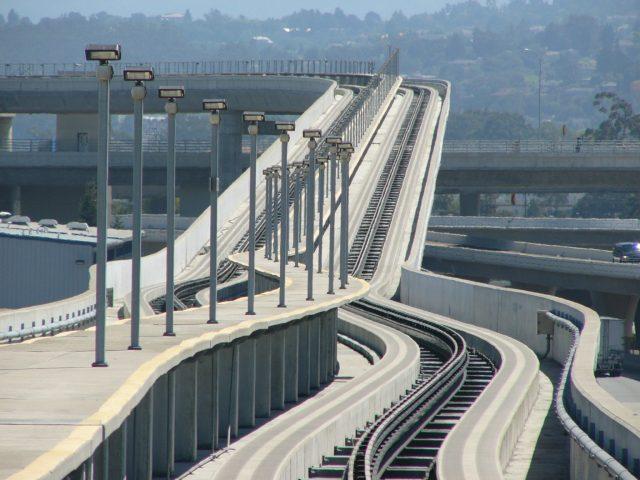 San Francisco APM guideway