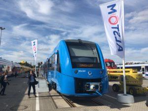 Coradia iLint hydrogen train Alstom