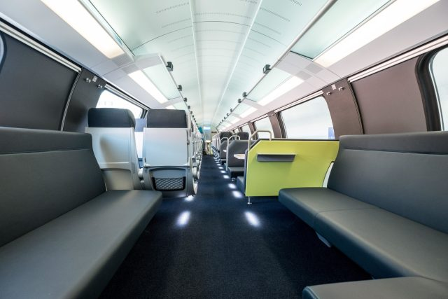 Current Westbahn KISS interior