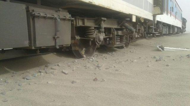 iranda tren kazasi olu yarali