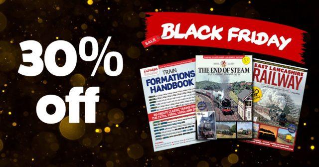 Black Friday railway bookazines